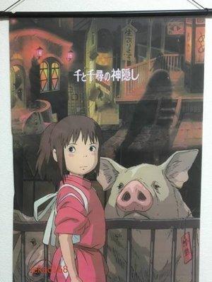 宮崎駿龍貓Totoro神隱少女無臉男掛立式海報組(個人收藏品 ]值得收藏