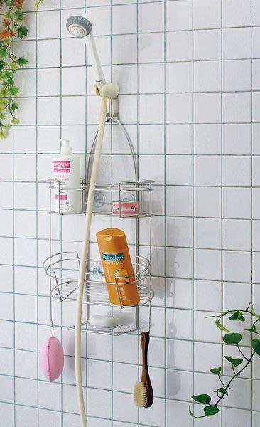☆成志金屬廠 ☆S-301-1A『免鑽孔』不鏽鋼蓮蓬頭吊籃沐浴乳、洗髮精置物架