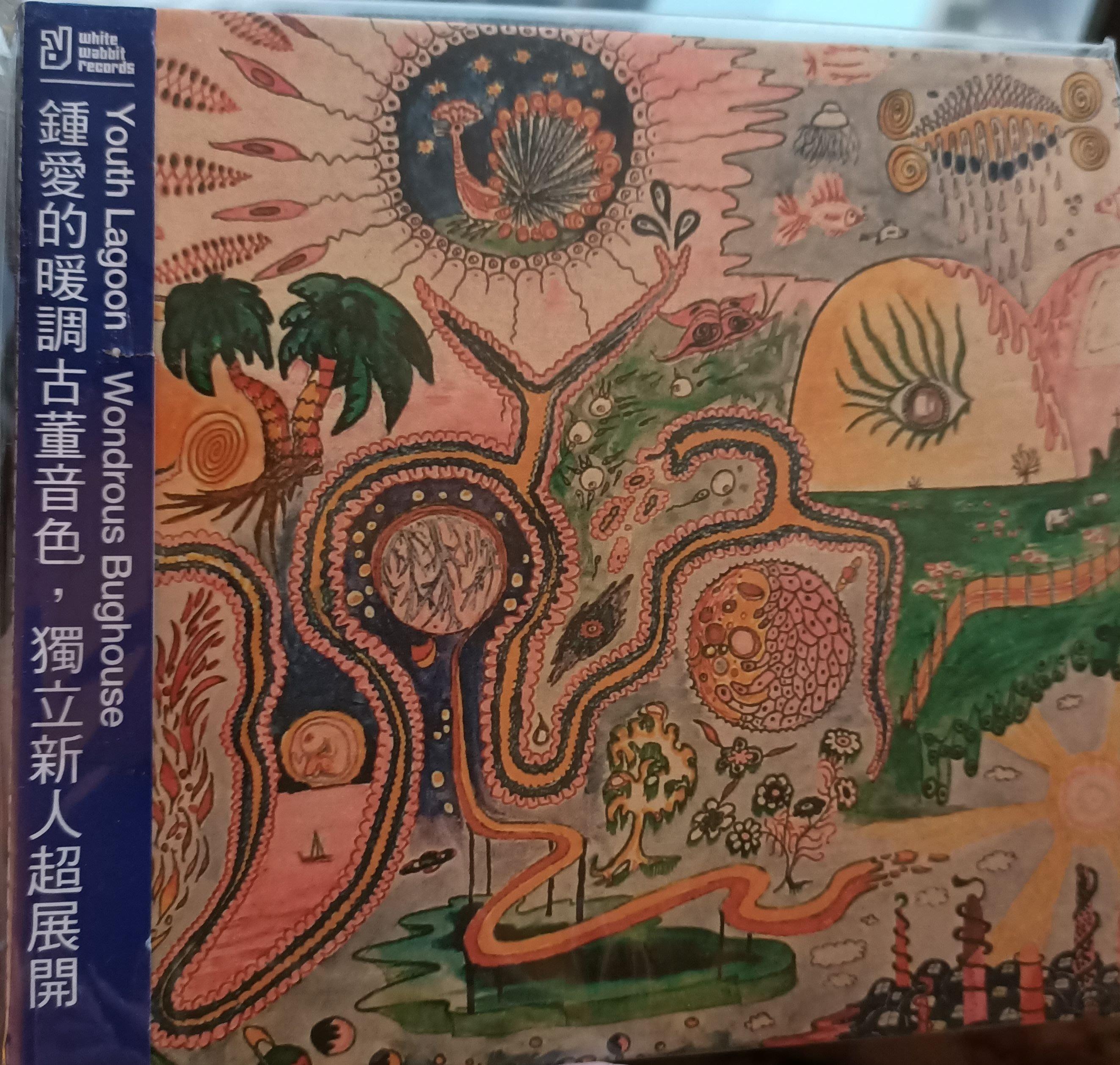 青春礁湖 Youth Lagoon - 驚奇療養院 Wondrous Bughouse (小白兔唱片)宣傳品