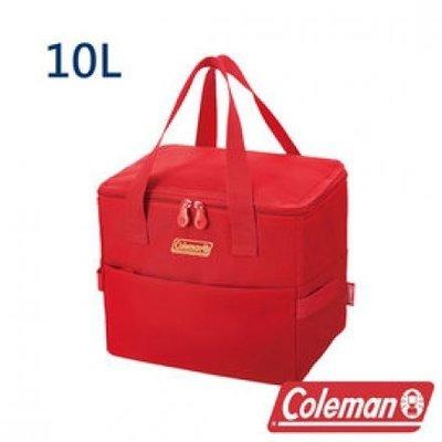 【山野賣客】Coleman美國 莓果紅保冷袋 保溫袋 冰桶 野餐籃 保冰袋 10L CM-27229