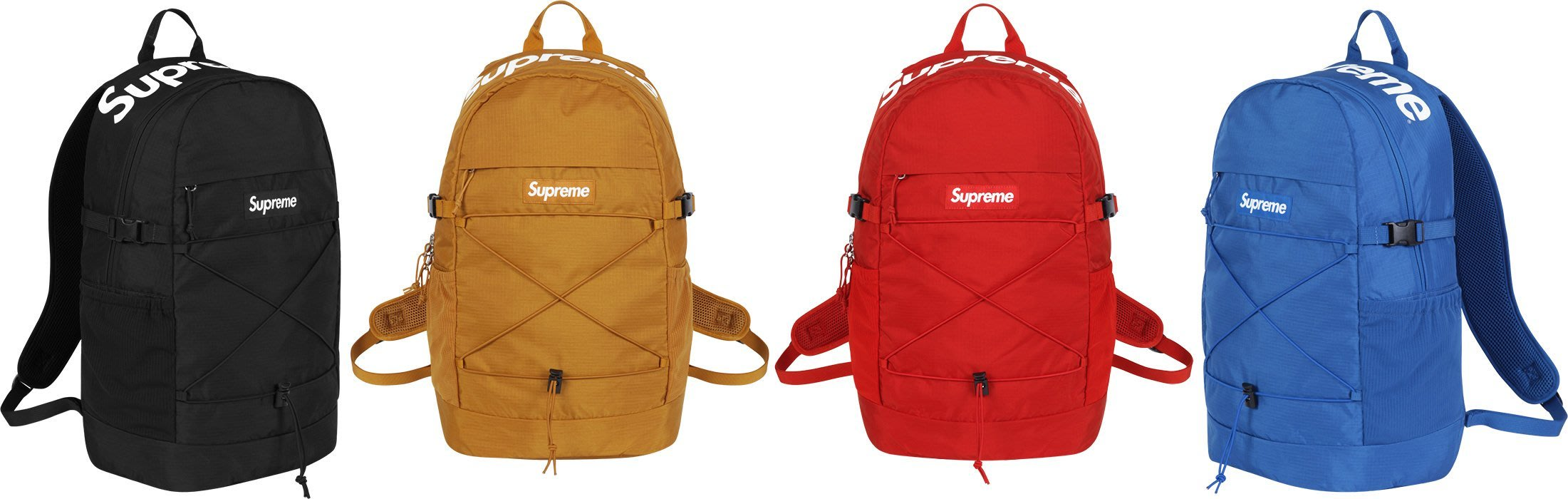 7fbc4bf70b2b 全新商品SUPREME Denier Cordura Backpack 40th 40代背包後背包防水尼龍材質