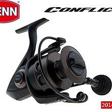 {龍哥釣具2} PENN Conflict Spinning Reel CFT 1000型 抗海水磯釣/船釣/路亞/池釣