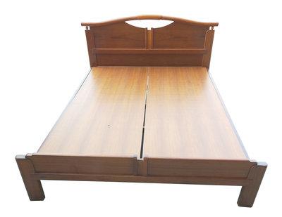 【宏品二手家具館】台中中古傢俱 B23210*木色5尺床架* 床板 床底 床箱 中古臥室家具 2手傢俱拍賣衣櫃 化妝鏡