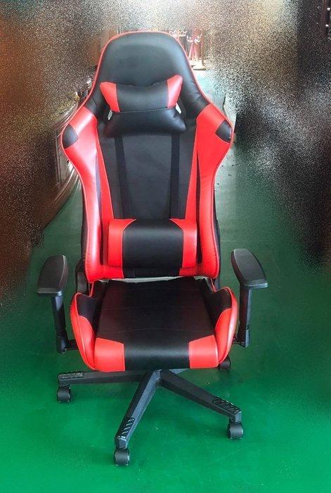 全新庫存家具賣場 EA419BH*新黑紅色賽車電競椅* OA椅 電腦書桌椅 辦公傢俱 辦公鐵櫃 北中南運送 新竹全新家具