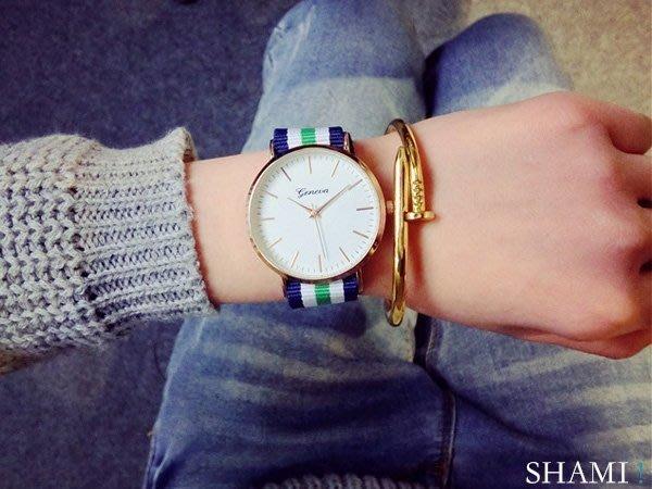 帆布手錶 時尚質感 熱賣 雜誌推薦款 對錶 情侶錶【WA671】男錶 女錶 尾牙 生日 情人節 交換 禮物 贈品