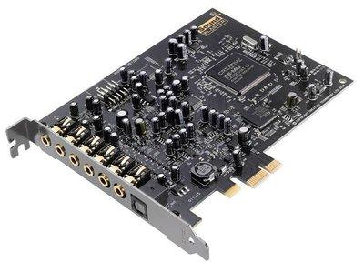 【也店家族 】新品上市__CREATIVE 創新未來 Audigy Rx  PCI-e7.1聲道音效卡 雙Mic輸入