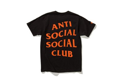 YZY|Antisocial Social Club UNDFTD COMPLEXCON PARANOID 聯名 短T