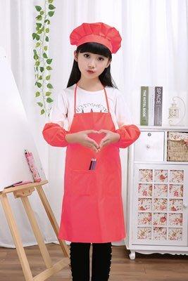 牛津布圍裙幼兒園畫畫衣防水蛋糕烘焙繪畫玩泥巴罩衣定制logo印字【單圍裙】
