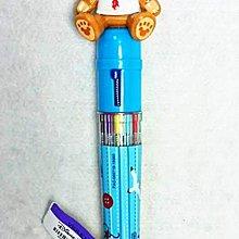 限量現貨 香港迪士尼 達菲自動原子筆 (十色筆)