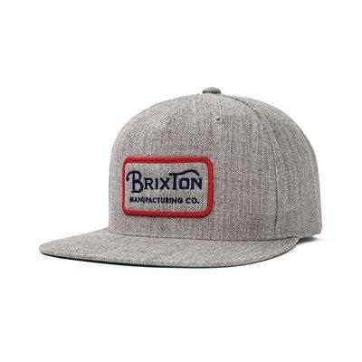 05da1f2bc71 [CABA'S滑板店] BRIXTON GRADE SNAPBACK 灰│ 加州品牌後扣式