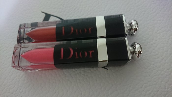 全新Dior癮誘超模漆光俏唇露#358 #638 (狂野盛夏限量版)