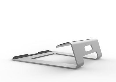 [ifostore]黑色 筆電專用鋁合金 散熱架 NB架 NS-403 iPad pro air mac 平板電腦