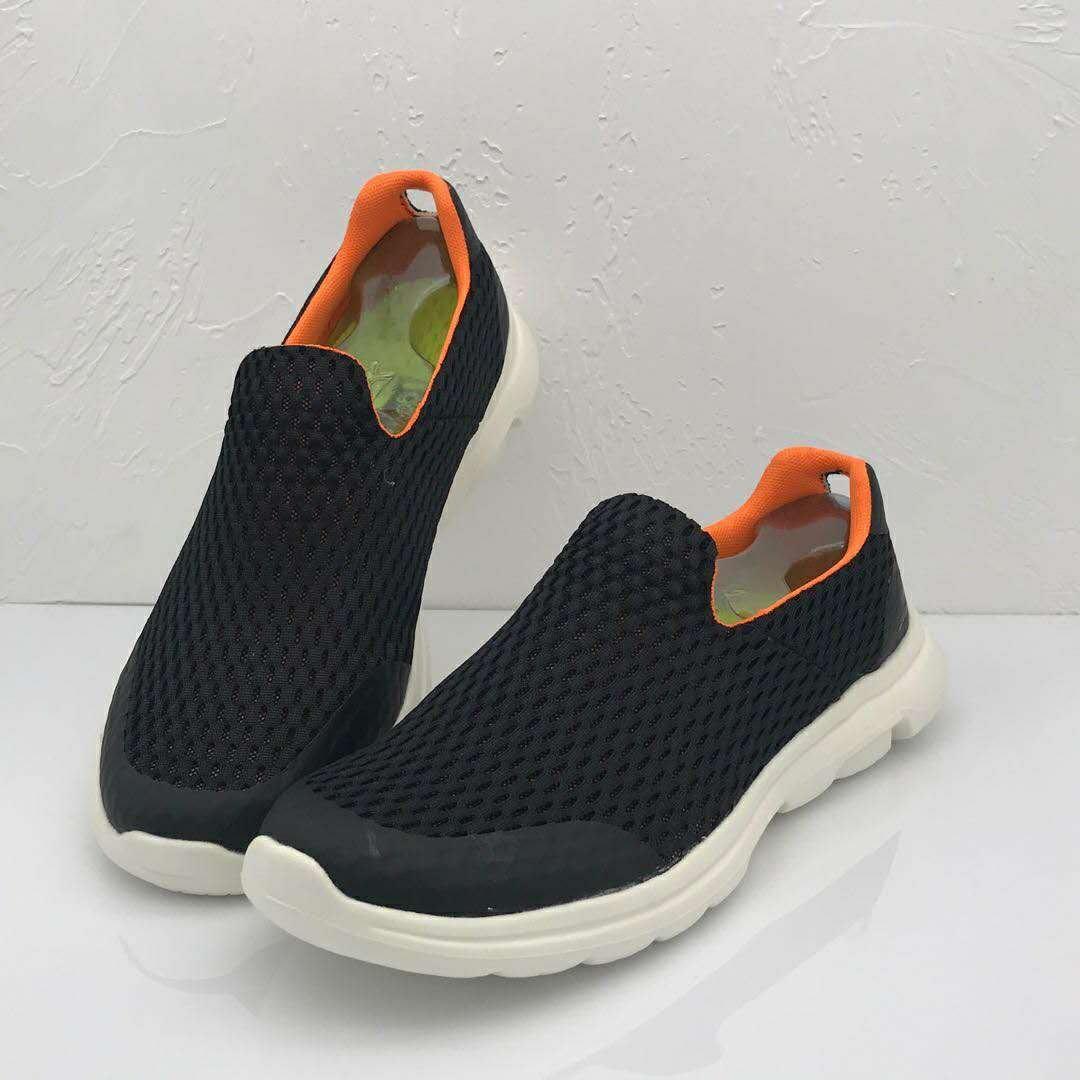 Skechers斯凱奇2020新款男鞋輕質網布鏤空大網孔透氣網鞋一脚套40-45