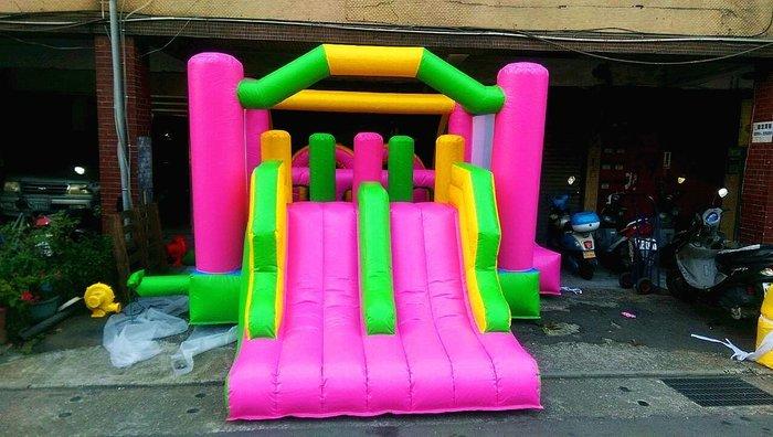 出租 小孩 充氣 城堡 遊戲屋 蹦蹦床 玩具屋 彈簧床 溜滑梯 蹦蹦床 趣味活動 園遊會 安全實用 (廣育充氣塑膠)
