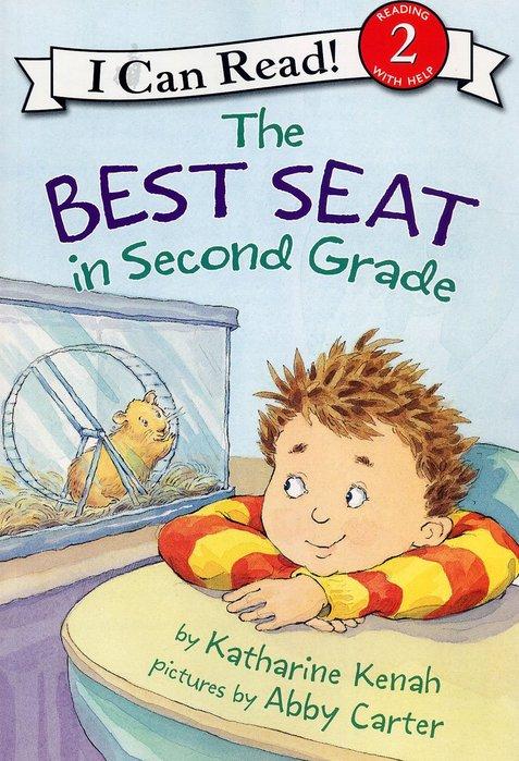 *小貝比的家*THE BEST SEAT IN SECOND GRADE / L2/平裝書+CD/3~6歲