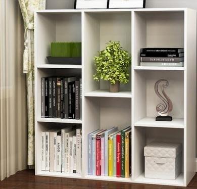 YEAHSHOP 書櫃 簡約置物櫃簡易書櫃書架儲Y185