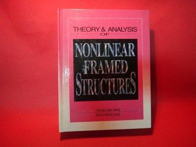 【愛悅二手書坊 01-04】Nonlinear Framed Structures