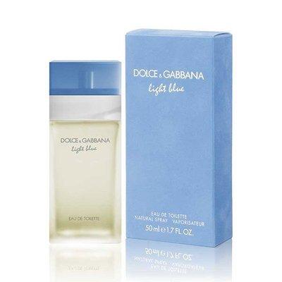 ♡NANA♡D  G Dolce   Gabbana Light Blue 淺藍 女性淡香水 50ML