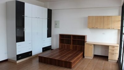 《實用衣櫃》配色衣櫥 (衣櫃)-(木芯板+美耐門板-耐用度高!!) -高雄 屏東 系統櫃