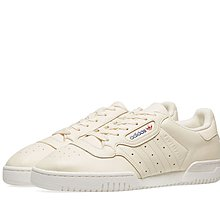 real new adidas powerphase cream white with receipt us9.5 full set yeezy