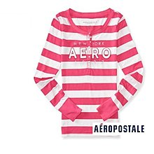 美國正品Aeropostale[Aero] 美式圓領長袖T ~ M ( 編號:7440 )