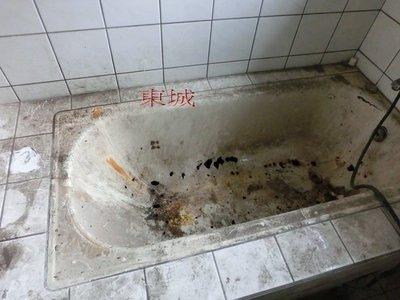 城衛浴   浴缸破裂拆除 .防水.貼磁磚浴缸換裝、改造、翻修、 完工圖片