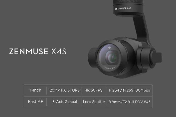 【酒鬼一番3C】DJI Inspire 2 悟 專用 單鏡頭 【X4S鏡頭】現金價