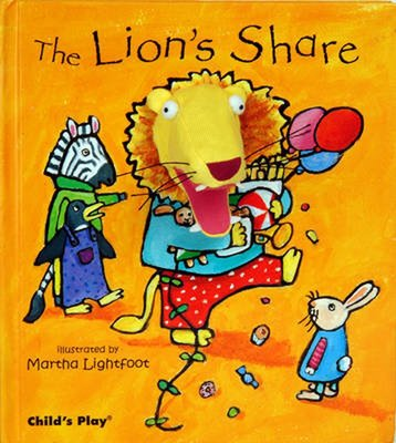 *小貝比的家*THE LION'S SHARE  /精裝/3~6歲/手偶書