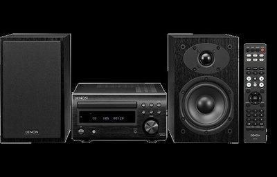 [紅騰音響]現貨 DENON D-M41 迷你音響 藍牙音響、CD(另有marantz M-CR612)即時通可議價