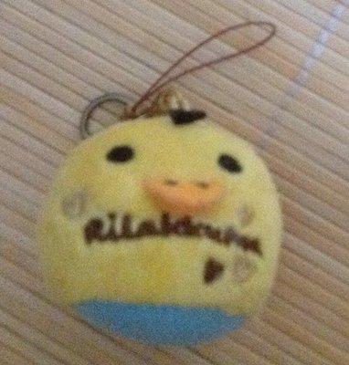 全新可愛黃雞吊飾