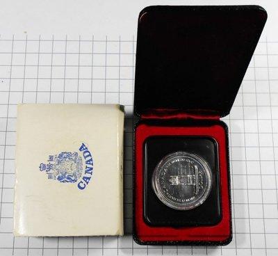 BA152 加拿大1952-1977年 登基加冕週年DOLLAR銀幣 盒裝 重約23.3g 高雄市