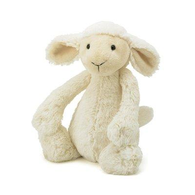 現貨 英國 JELLYCAT 全系列商品代購 小羊 寶寶的第一個朋友  精緻的絨毛玩偶 Bashful Lamb 生日禮