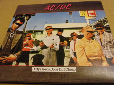 AC/DC -- Dirty Deeds Done Dirt Cheap