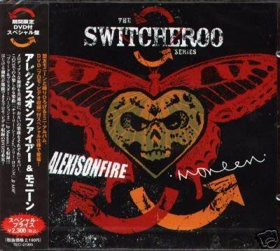 K - Alexisonfire And Moneen - The Switcheroo Seri 日版 CD+DVD