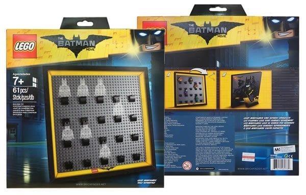 現貨【LEGO 樂高】全新正品 Minifigures人偶系列: 蝙蝠俠電影人偶包抽抽樂 71017 原廠專用相框
