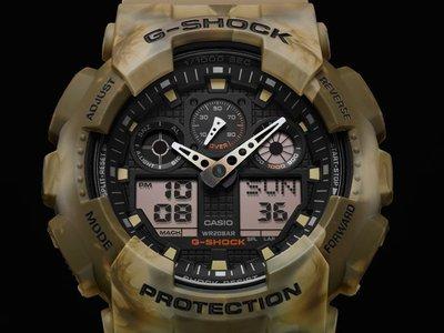 CASIO G-SHOCK GA-100 series GA-100MM-5A GSHOCK GA100MM