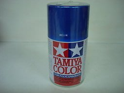 ** RC 小舖 ** TAMIYA PS-16 金屬藍色 軟殼透明車殼噴漆 軟殼專用