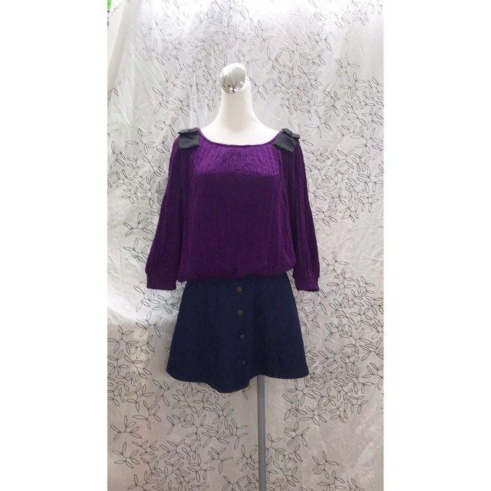 《Iris Girls》紫色羊毛美衣 秋冬美衣上架 詳閱敍述 實拍