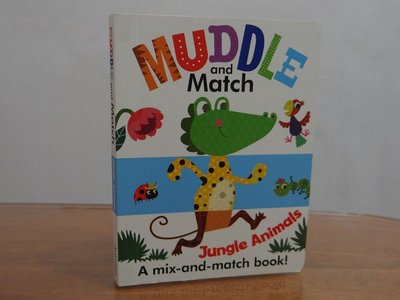 【新書】MUDDLE and Match Jungle Animals A  mix-and-match book!