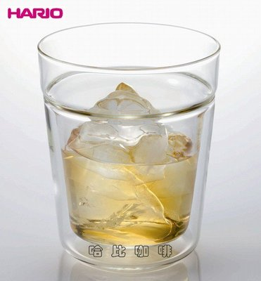【豐原哈比店面經營】HARIO TRG-260雙層耐熱玻璃杯 咖啡杯-260CC