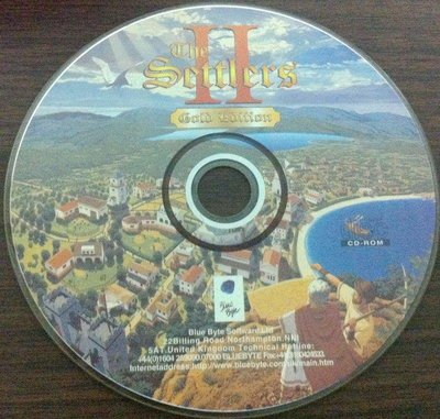 PC GAME:工人物語2 THE SETTLERS II~二手
