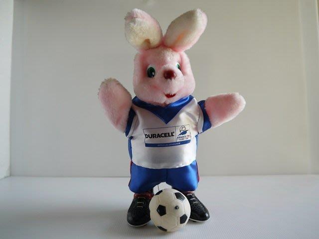 麥物堂珍藏公仔娃娃~全新『金頂足球兔~大型』**絕版逸品*