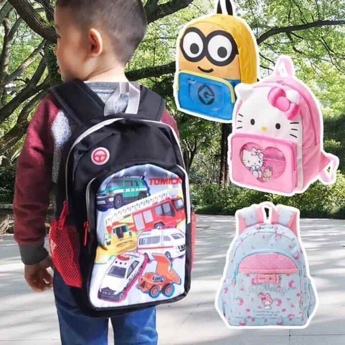 Baby Sheep 日本新幹線 多美汽車 小叮噹 Tomica 兒童後背包 兒童書包 外出包旅行包透氣背包卡通背包