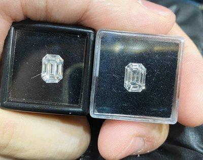 【台北周先生】天然白色鑽石0.77/0.79克拉 超乾淨VVS 拼鑽 D.E-color 璀璨耀眼