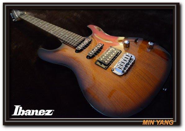 *民揚樂器*/電吉他 Ibanez GSA-60BS 原木漸層 小搖座/GSP優良樂器商