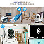 【AI自動追踪】1080P 智能Wifi攝影機 10顆燈高清夜視攝影機 WIFI監視器 APP操控 網路監控 錄影回放