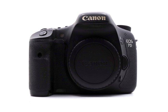 【台中青蘋果】Canon EOS 7D 單機身 二手 單眼相機 公司貨 快門次數約84,248 #22003