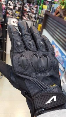 瀧澤部品 法國 ASTONE DELTA 黑 防摔手套 騎士手套 可觸控 短手套 牛仔布 R1阿魯6R準FZ1000RR