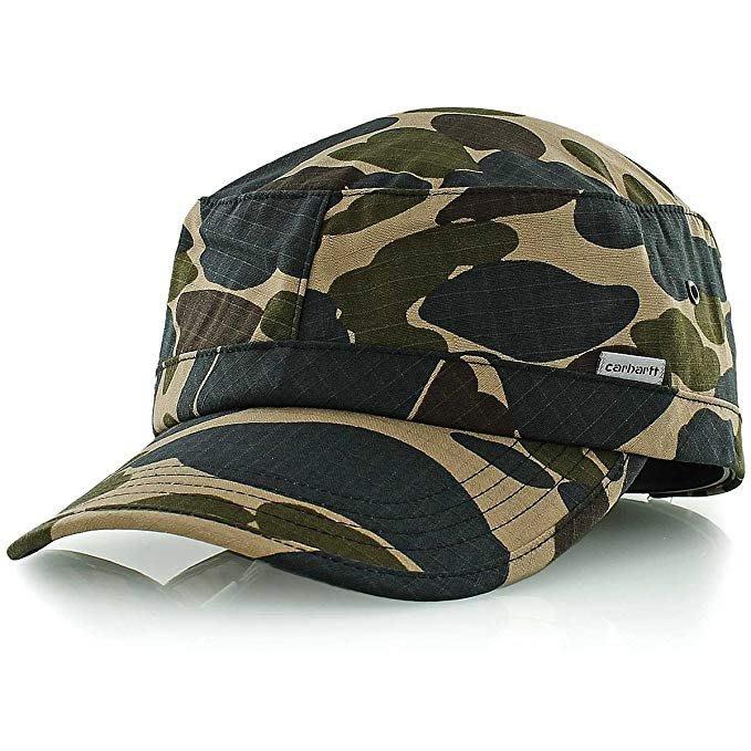 『WORKZOO』 Carhartt wip army cap 迷彩 軍帽  Ripstop材質