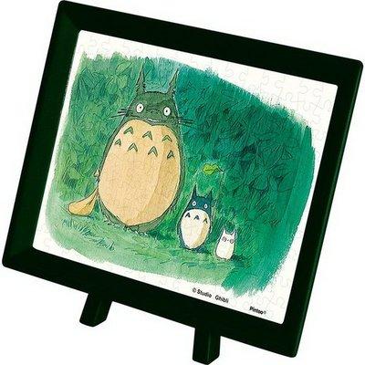 日本進口拼圖專賣店_卡通動畫 150片 宮崎駿 龍貓 森林的相遇 迷你拼圖 附原廠框 MA-01